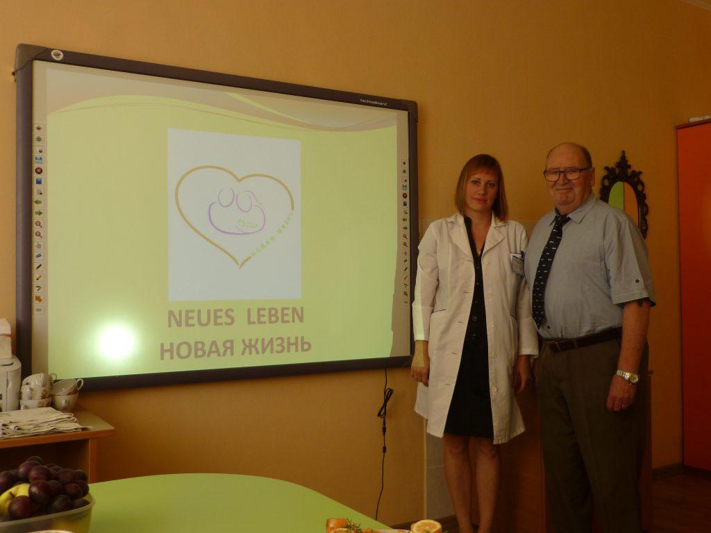 Geburtstagsgeschenk für ein soziales Projekt in Polozk