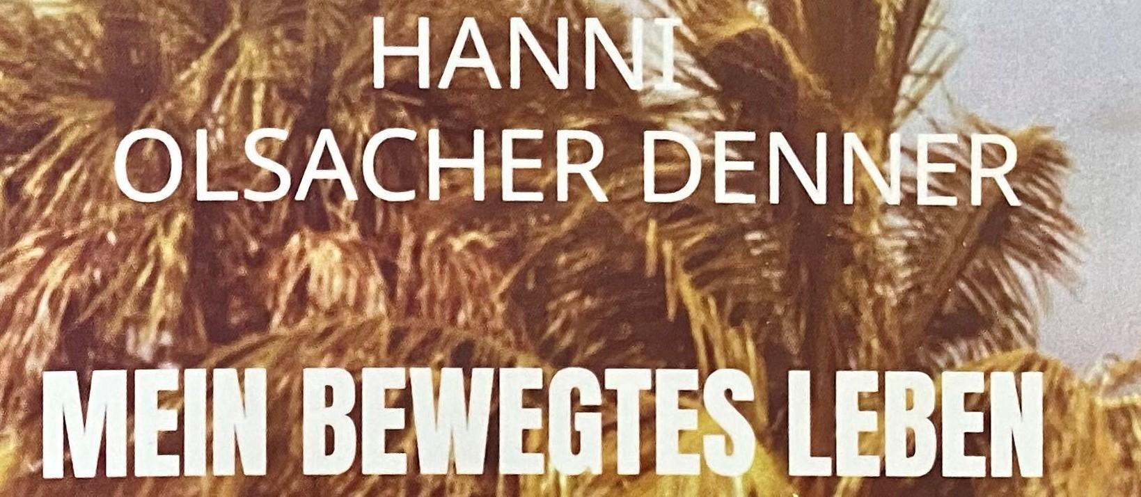 Hanni Olsacher schreibt und spendet!