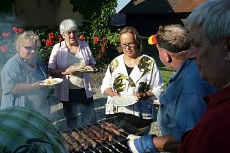 Sommerfest mit Schaschlik