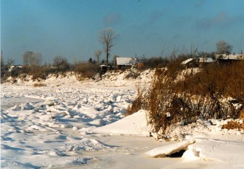 Dwina im Winter