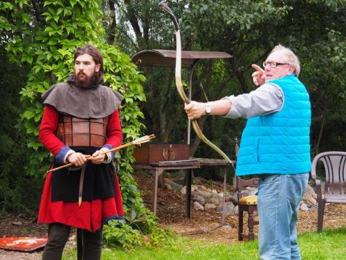 In die Vikingerrolle schlüpfen