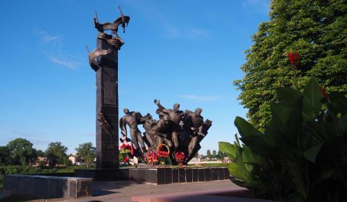 Denkmal für 23 tapfere sowjetische Soldaten